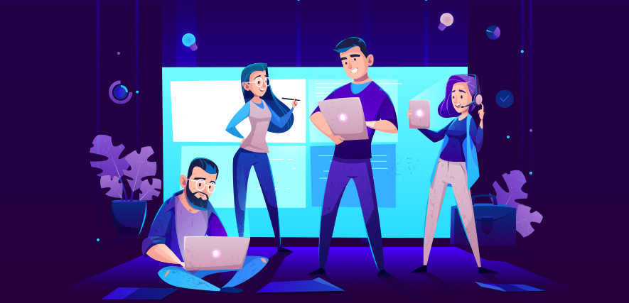 A Great Team of Software Developers